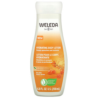 Weleda, Hydrating Body Lotion, Sea Buckthorn Extracts, 6.8 fl oz (200 ml)