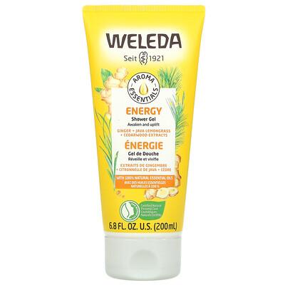 Купить Weleda Aroma Essentials, Energy Shower Gel, 6.8 fl oz (200 ml)