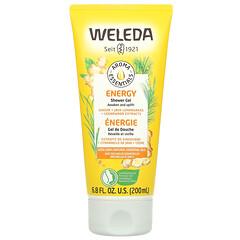 Weleda, Aroma Essentials,活力沐浴露,6.8 液量盎司(200 毫升)