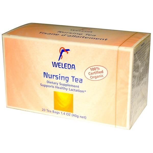 Weleda, Чай для кормящих матерей, 20 пакетиков, 1.4 унции (40 г) (Discontinued Item)