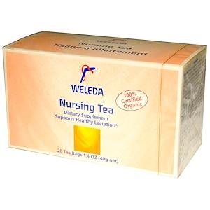 Веледа, Nursing Tea, 20 Tea Bags, 1.4 oz (40 g) отзывы покупателей