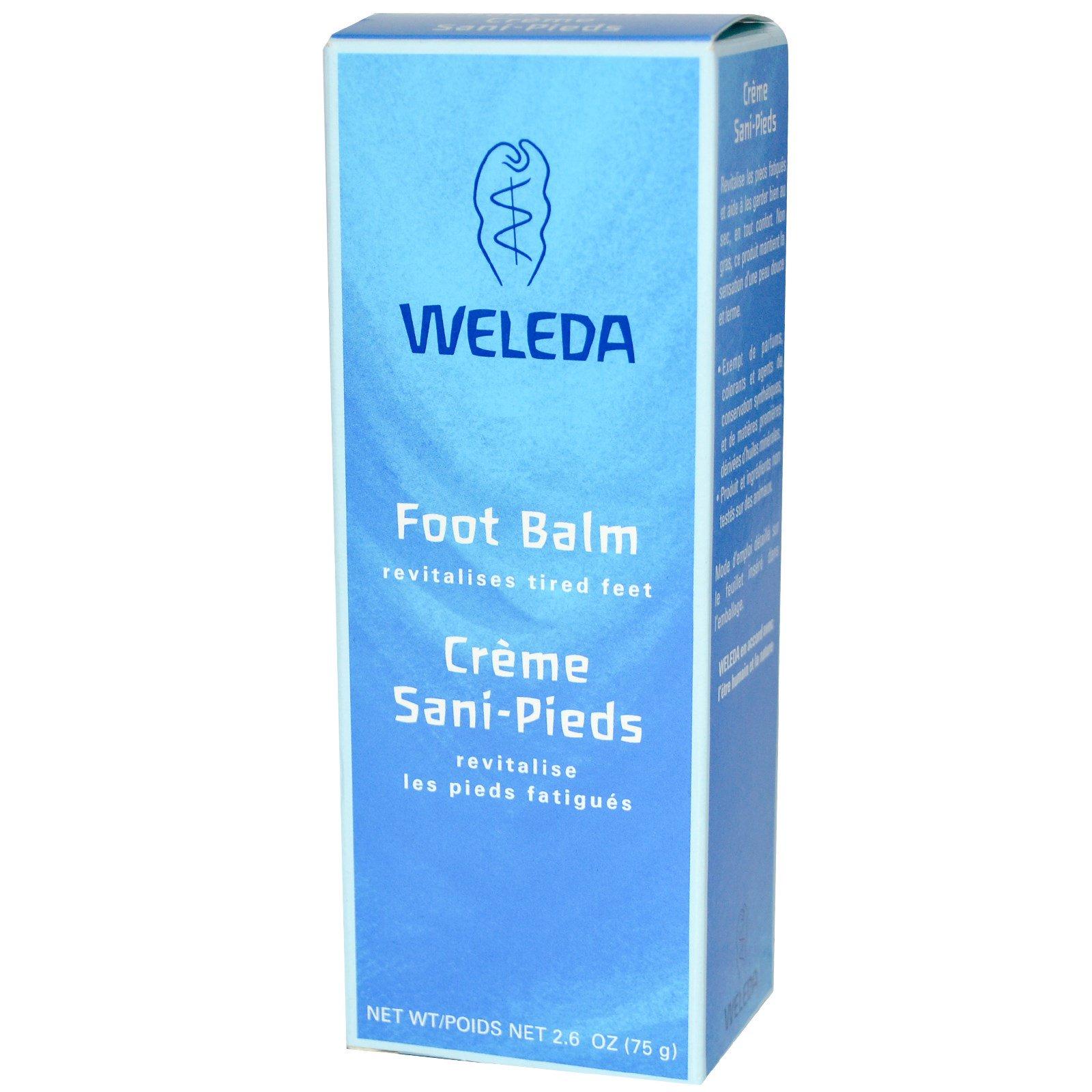 Weleda, Бальзам для ног 2.6 унции (75 г)