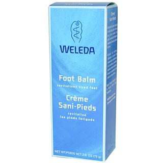 Weleda, Foot Balm, 2.6 oz (75 g)