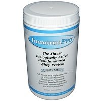 ImmunoPro, Неденатурированный сывороточный протеин, Натуральный, 10,6 унций (300г) - фото