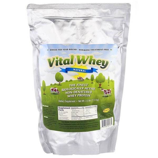 Well Wisdom, Vital Whey, Natural, 2.5 lbs (1.13 kg) (Discontinued Item)