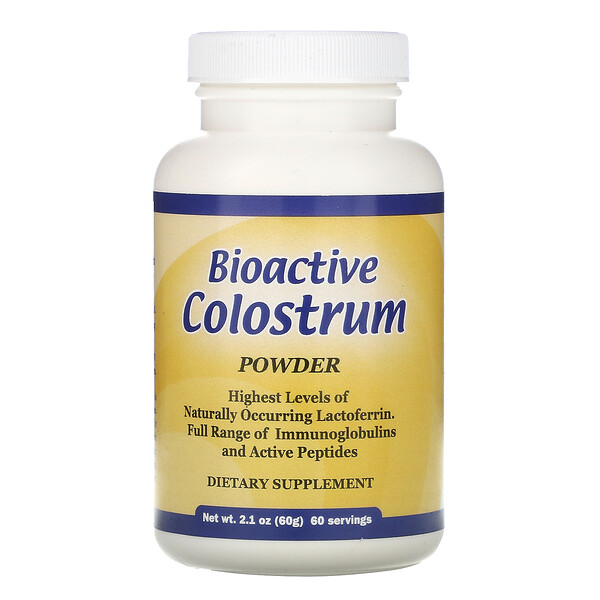 Well Wisdom, Bioactive Colostrum Powder, 2.1 oz (60 g) (Discontinued Item)