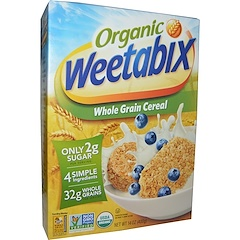 Weetabix, Organic, Whole Grain Cereal, 14 oz (400 g)