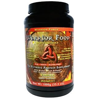 Warrior Force Nutritionals, Warrior Food, Version 3.0, Vanilla, 35.2 oz (1000 g)