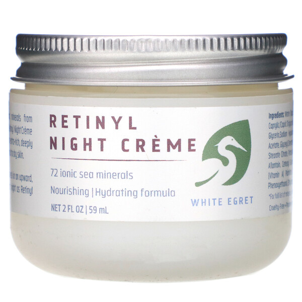 Retinyl Night Cream, 2 fl oz (59 ml)