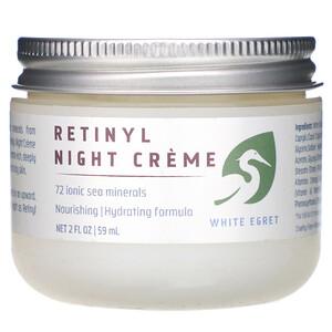 Вайт Егрет Персонал Кер, Retinyl Night Cream, 2 fl oz (59 ml) отзывы покупателей