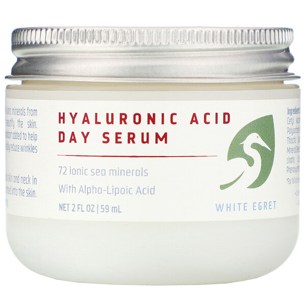 Hyaluronic Acid, Day Serum, 2 fl oz (59 ml)