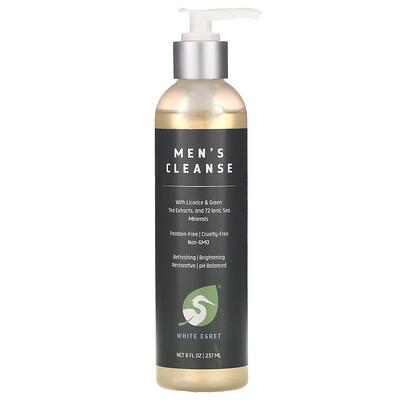 Купить White Egret Personal Care Men's Cleanse, 8 oz (237 ml)