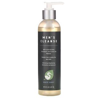 White Egret Personal Care, Men's Cleanse,  8 oz (237 ml)