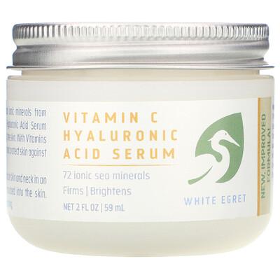 Купить Сыворотка с гиалуроновой кислотой и витамином C, 2 жидких унции (59 мл)