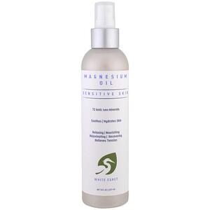 Вайт Егрет Персонал Кер, Magnesium Oil, Sensitive Skin, 8 fl oz (257 ml) отзывы