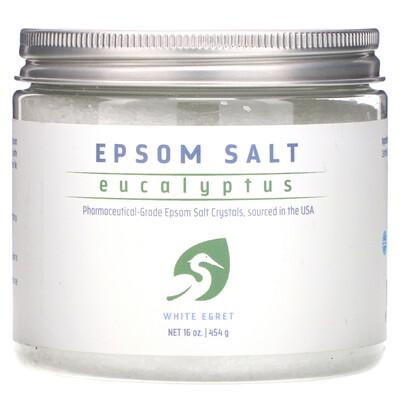 Купить White Egret Personal Care Английская соль, эвкалипт, 454 г