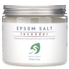 White Egret Personal Care, 瀉鹽,薰衣花草香,16 盎司(454 克)
