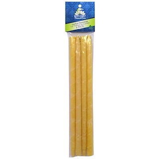 White Egret Personal Care, Personal Care Candles, Herbal Beeswax, 4 Pack