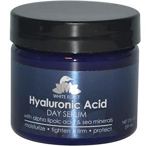 Вайт Егрет Персонал Кер, Hyaluronic Acid Day Serum, 2 fl oz (59 ml) отзывы покупателей