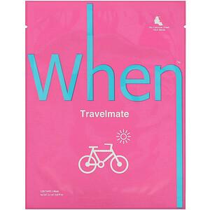 When Beauty, Travelmate, Bio-Cellulose Sheet Mask, 1 Sheet, 0.8 fl oz (23 ml) отзывы