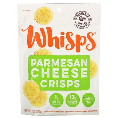 Whisps Parmesan Cheese Crisps, 2.12 oz (60 g)