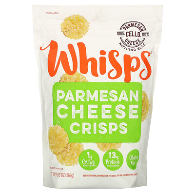 Купить Whisps Parmesan Cheese Crisps, 9.5 oz (269 g)