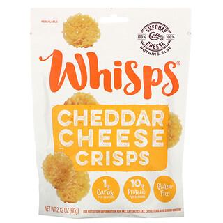 Whisps, Cheddar Cheese Crisps,  2.12 oz (60 g)