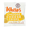 Whisps, Cheddar Cheese Crisps, Snack Packs, 6 Pouches, 0.63 oz (18 g) Each