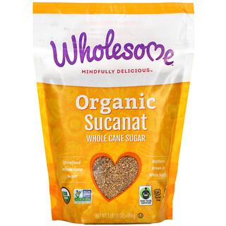 Wholesome, Organic Sucanat, Whole Cane Sugar, 16 oz (454 g)