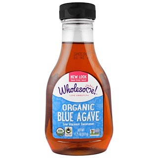 Wholesome Sweeteners, Inc., Organic Blue Agave, 11.75 oz (333 g)