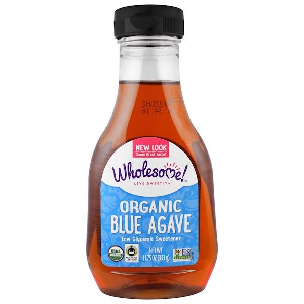 Wholesome Sweeteners, Inc., オーガニック・ブルーアガベ, ライト, 11.75 オンス (333 g)