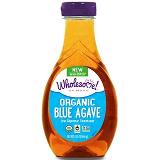 Wholesome Sweeteners, Inc., Organic Blue Agave、23.5オンス (666 g)