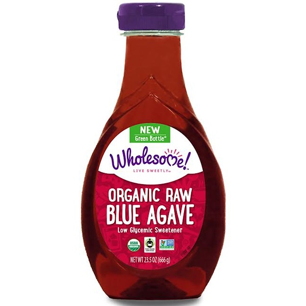 Wholesome , Organic Raw Blue Agave, 1.46 lbs (666 g)