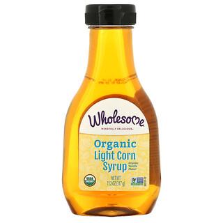Wholesome, Organic Light Corn Syrup, Vanilla, 11.2 oz (317 g)