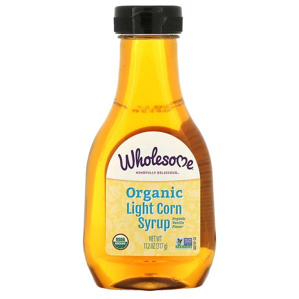 Organic Light Corn Syrup, Vanilla, 11.2 oz (317 g)