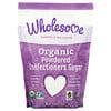 Wholesome, Organic Powdered Confectioners Sugar, 1 lb (454 g)