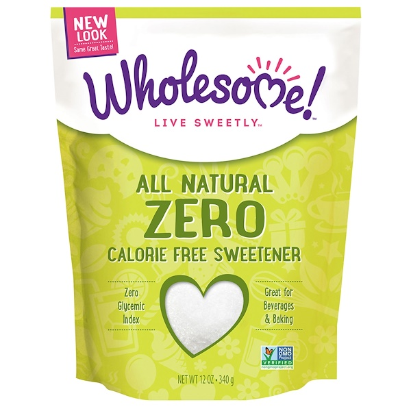 Wholesome , All Natural Zero Calorie Free Sweetener, 12 oz (340 g)