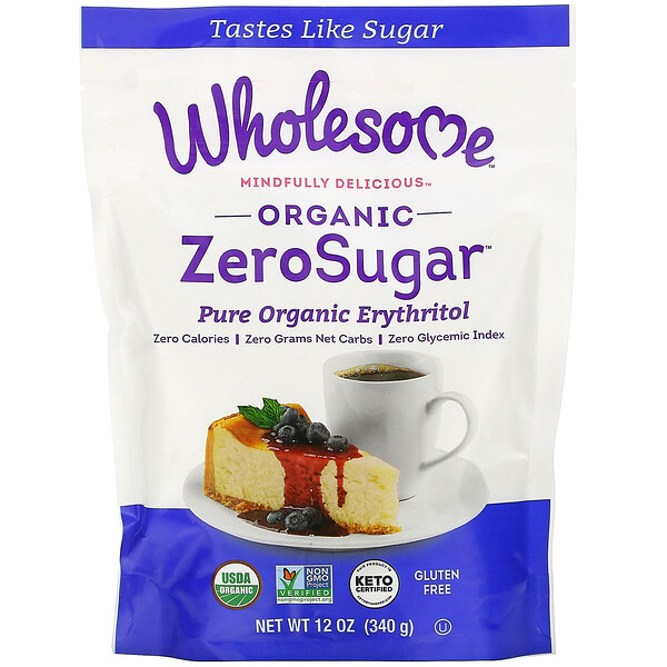 Wholesome, Organic ZeroSugar, 12 oz (340 g)