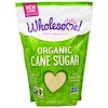 Wholesome Sweeteners, Inc., オーガニック甘蔗糖, 濃縮サトウキビジュース, 32オンス(907 g)