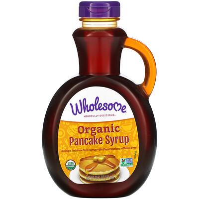Купить Wholesome Organic Pancake Syrup, 20 fl oz (591 ml)