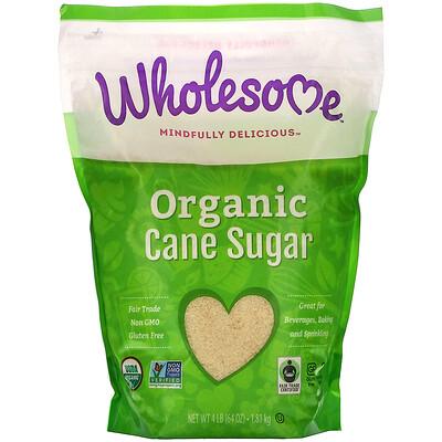 Wholesome Органический тростниковый сахар, 1,81 кг (4 фунта)