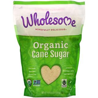 Wholesome, Azúcar orgánico de caña, 4 lb (1,81 kg)