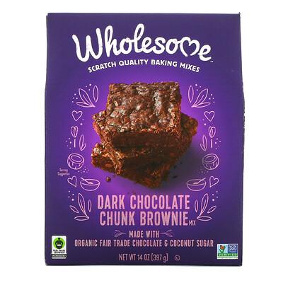 Wholesome Dark Chocolate Chunk Brownie Mix, 14 oz (397 g)