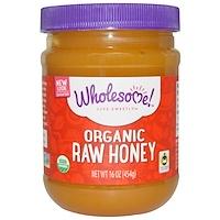 Органический натуральный мед, 16 унций (454 г) - фото