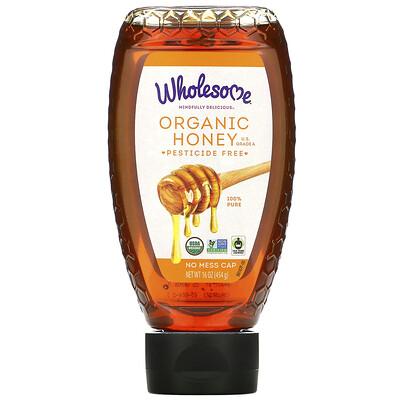 Купить Wholesome Органический мед, 454 г (16 унций)