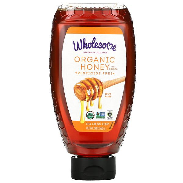 Miel Orgánica, 24 oz (680 g)