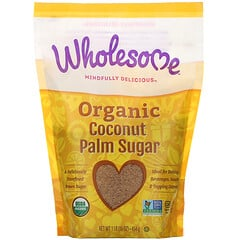 Wholesome, 有機椰子棕櫚糖,16 盎司(454 克)