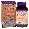 Wiley's Finest, ワイルド・アラスカン・フィッシュオイル、胎児期DHA、600mg、フィッシュソフトジェル180錠