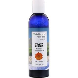 Wellinhand Action Remedies, Yeast Rescue, успокаивающее мыло, 6 ж. унц. (177 мл)