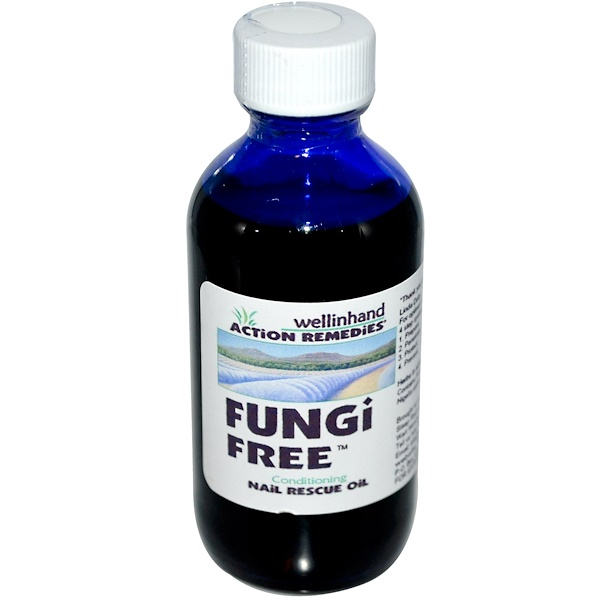 Wellinhand Action Remedies, FungiFree, Nail Rescue Oil, 2 fl oz (60 ml) (Discontinued Item)
